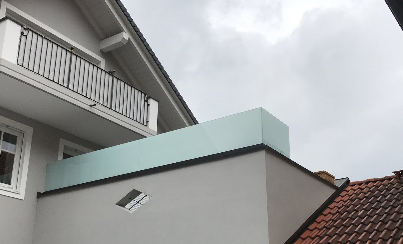 Sichtschutz Terrasse Glas